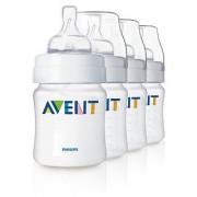 Philips AVENT 4 Oz. BPA Free Bottles - 4 Pack