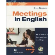 Business English: Meetings in English. Student's Book with Audio-CD by Bryan Stephens
