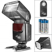 Altura Photo (AP-UNV1) Speedlite Flash Kit for Canon Nikon Sony Panasonic Olympus Fujifilm Pentax Sigma Minolta Leica and any Digital Camera with a Standard Hot Shoe Mount - Includes: Altura Photo Flash + Softbox Flash Diffus