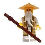LEGO® Ninjago: Minifigure - Wu 70751 (Tan and Gold Outfit)