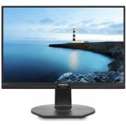 "Monitor IPS LED Philips 23.8"" 241B7QPJEB, Full HD (1920 x 1080), VGA, HDMI, DisplayPort, Boxe, Pivot, 5 ms (Negru)"