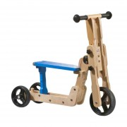Geuther Scooter 2-In-1 Blauw / Blank