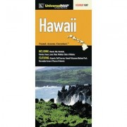 Universal Map Hawaii State Fold Map (Set of 2) 12162