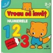 Vreau sa invat Numerele 2-3 Ani