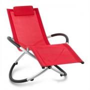Blumfeldt Chilly Billy, piros, kerti relax szék, alumínium (HMD1-Chilly-Billy-RD)
