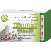 Mumie cu propolis (extract purificat de rasina), 60 capsule