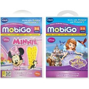 V Tech Mobi Go Software Minnies Bow Toons And Disney Sofia The First 2productbundle