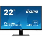 iiyama ProLite XU2290HS-B1 21,5' ULTRA slim LINE LED LCD 1920x1080 IPS 250 cd/m² 5M:1 ACR speakers VGA DVI & HDMI 5ms TCO6