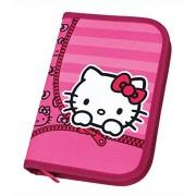 Scooli-HKS U0440 Stylo Hello Kitty-Coffret avec rembourrage Stabilo marque 30 feuilles Couleur : Rose