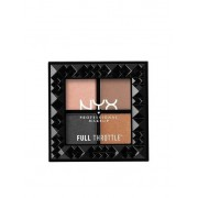 NYX Professional Makeup Full Throttle Shadow Palette Ögonskuggor Take Over Control