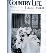 Country Life Illustrated, Vol. Vi, N° 138, Aug. 1899 (Contents: Our Frontispiece: Lady St. Oswald And Her Children Grouse On Many Moors. Country Notes. Hazvking At Spa. (Illustrated). Making ...