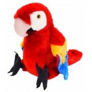 Wild Republic Cuddlekin Macaw Scarlet 12 Plush