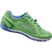 ShimanoE-SHCT41L - Zapatos de Bicicleta de montaña Unisex adulto, Verde - verde (verde)