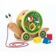 Hape Puž igračka E0349