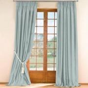 """Vorhang """"Sandria"""", 142 x 280 cm - Weinrot - 1 Stück"""