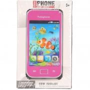 Speelgoed smartphone roze