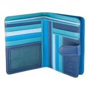 dudu Portafoglio Donna Dudu Colorful Maldive Blu