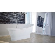 Niagara Wellness Greta 160×66 cm öntött márvány szabadonálló kád
