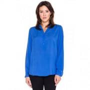 Sobora Koszulowa bluzka w kolorze chabrowym - Sobora