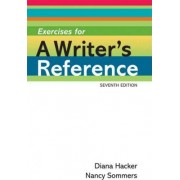 Exercises for a Writer's Reference by University Diana Hacker