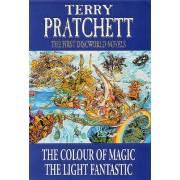 The First Discworld Novels: Colour of Magic, Light Fantastic by Terry Pratchett