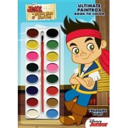 Disney Jake and the Never Land Pirates Treasure Hunt Ultimate Paint Box Book to Color by LLC Dalmatian Press