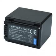 MPTECK @ 1X Remplacement Batterie VW-VB380 pour Panasonic HC-V130, HC-V160, HC-V180, HC-V210