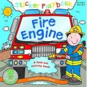 Fire Engine Sticker Playbook by Belinda Gallagher