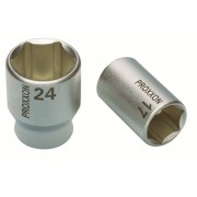 Proxxon 23408 1/2 Zoll Steckschlüsseleinsatz, 12 mm