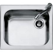 Chiuveta BARAZZA Select 1IS6060/1 58.5x50 cm cu 1 cuva, Fabricatie Italia