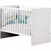 Sauthon meubles Lit bébé 60x120 non transformable nino