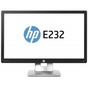"Monitor IPS LED HP 23"" EliteDisplay E232, Full HD (1920 x 1080), VGA, HDMI, DisplayPort, 7 ms GTG + Lantisor placat cu aur cu pandantiv in forma de lup de mare"