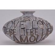 Vase L'Amore grey
