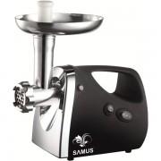 Masina de tocat SMT-1500B, 1500 W, Accesoriu suc rosii, Negru