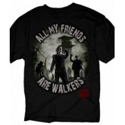 Tricou - The Walking Dead - All my Friends are Walkers