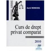 Curs de drept privat comparat - Aurel Bonciog