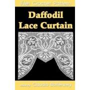 Daffodil Lace Curtain Filet Crochet Pattern by Claudia Botterweg