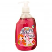 Boom Kids Fresh Raspberry gyerek folyékony szappan 500 ml.