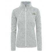 The North Face Crescent Full Zip Women Vintage White Heather 2017 Sweatshirts & Trainingsjacken
