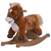 Rockin Rider Brown Rocking Pony Ride On