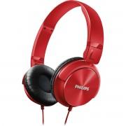 Philips Shl3060Rd/00 Fone de Ouvido Estilo Dj com Graves Nítidos Vermelho