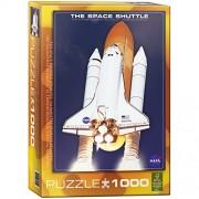 Eurographics 04954 Space Shuttle Atlantis, Puzzle, 1000 pezzi