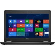 """Laptop Dell Latitude 12 E7250 (Procesor Intel® Core™ i5-5300U (3M Cache, up to 2.90 GHz), Broadwell, 12.5"""", 8GB, 256GB SSD, Intel HD Graphics 5500, Tastatura iluminata, FPR, Win7 Pro 64 + Win8.1 Pro 64)"""