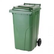 Külső hulladéktároló, szemetes kuka, több színben, 240 literes, műanyag