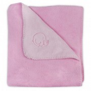 Jollein deken comfy fleece pink