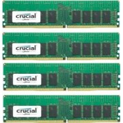 Kit Memorie Server Crucial ECC UDIMM 4x16GB DDR4 2133MHz CL15 Dual Rank x8 Quad Channel