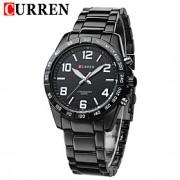 Masculino Relógio Elegante Quartzo Japonês Calendário / Impermeável Aço Inoxidável Banda Preta / Prata marca