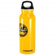 Алуминиева бутилка за течности Wenger Yellow 2300.8, 650 мл
