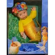 Anne Geddes Baby Mermaid Doll Under the Sea Collection / Muneca de Sirena Bajo el Mar