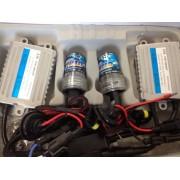 Kit Xenon Fast Start - cu incarcare rapida, ideal faza lunga, H16, 55W, 12V